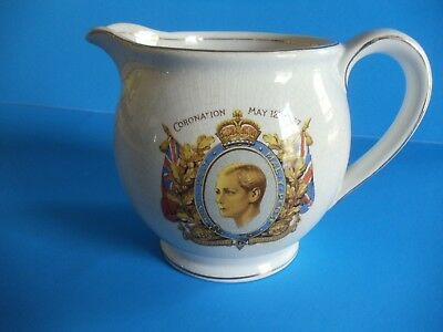 King Edward VIII Pitcher - Coronation May 12, 1937