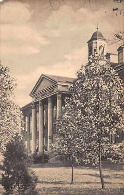 Huntington West Virginia Marshall College Morrow Library Antique Postcard J79363