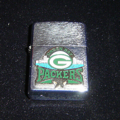 Green Bay Packers Zippo Lighter Made In Usa Very Nice