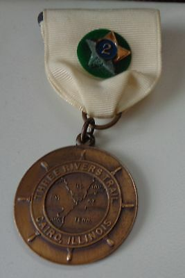 Boy Scout Trail Medal Three Rivers