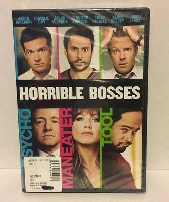 Horrible Bosses (NEW DVD) FREE SHIPPING!