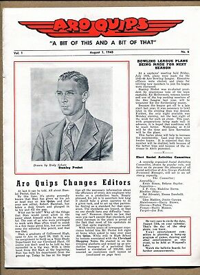 ARO Quips Vol. 1, No. 6, August 1, 1943 ~ Very Rare ~ World War II