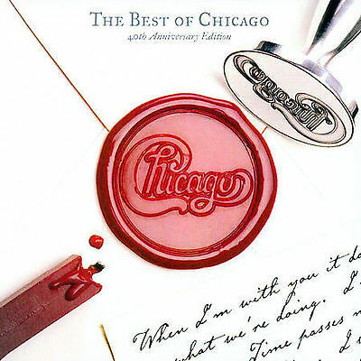 The Best of Chicago: 40th Anniversary Edition by Chicago (CD, NEW, 2 Discs,