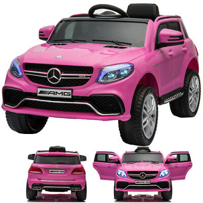Mercedes-Benz Gle 63S AMG Children´S Car Children Vehicle Electric Pink/Pink