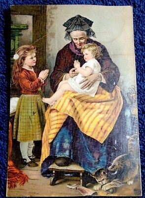 1880's Victorian Trade Card Dr Jaynes Tonic R D Wood & Co Florence Nj