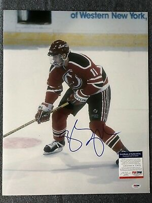 8e4ba462489 BRENDAN SHANAHAN HAND Signed 8x10 Photo New York Rangers NHL ...