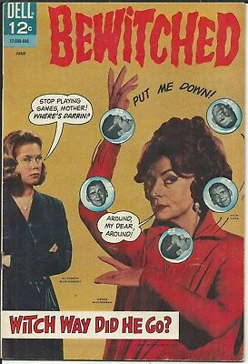 "Buy-It-Now Blowout! ""bewitched"" 3 Issues! From 1966-1968"