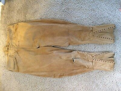 pre ww1  US belted back cotton breeches border war period and earlier