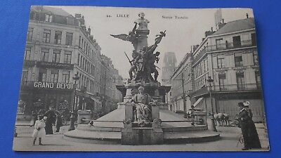 CPA - Lille - statue testelin be (59)