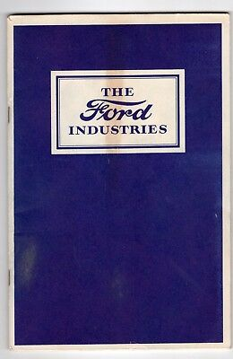 1927 The Ford Industries