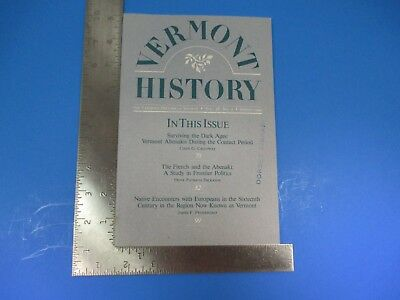 Vermont History Volume 58 Number 2 Spring 1990 French and The Abenaki S7337