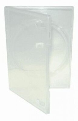 500 STANDARD Clear Single DVD Cases