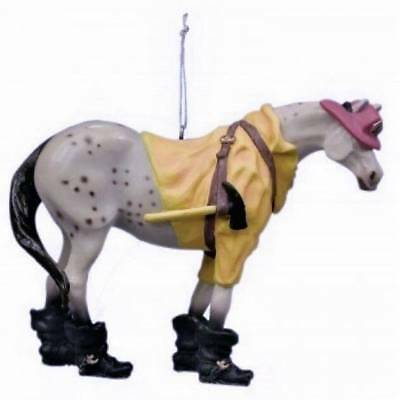 Trail of Painted Ponies Fireman Ornament - RETIRED 2005 -1st Herd HTF