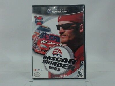 Nascar Thunder 2003 Gamecube Complete In Box W/ Manual Cib Very Good