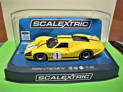 "Scalextric  Ford GT40 MK IV  #1  "" Sebring 12 Hours 1967 ""   Ref.  C3859"