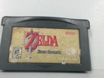 ZELDA LINK TO THE PAST Gameboy Advanced GBA Scratched