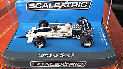 "Scalextric  Lotus 49  N° 10 "" 1970 race of Champions ""  Ref:  C3707"