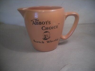 the abbots choice  whisky water jug