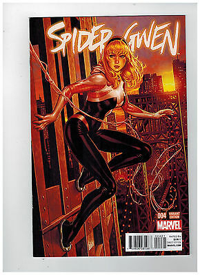 SPIDER-GWEN #4  1st Printing - Mark Brooks NYC Variant      / 2015 Marvel Comics
