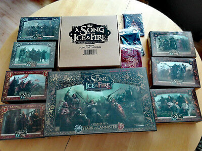 A Song of Ice and Fire + Dice Bags / Hand of the King Kickstarter Pledge CMON