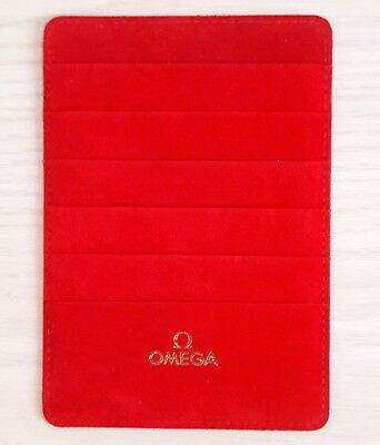 Ω OMEGA Uhr Watch Kartenhalter Geldbörse Currency Wallet Kartenetui Cardholder Ω