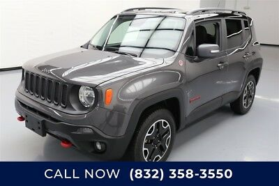 Jeep Renegade Trailhawk Texas Direct Auto 2016 Trailhawk Used 2.4L I4 16V Automatic 4WD SUV Premium