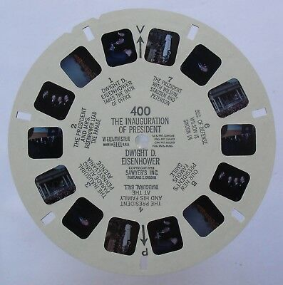 View Master 3D Bildscheibe - 400 - The Inauguration Of President Eisenhower