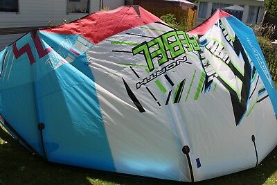 14er North Rebel Freeride Kite 14qm Leichtwindkite Kite und Bag