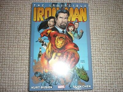 The Invincible Iron Man  Marvel Omnibus Out Of Print Kurt Busiek Sean Chen Oop