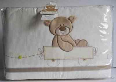 Lovely Mothercare Bear+Friends Long Bumper For Cot / Cot Bed-Baby's Nursery *new