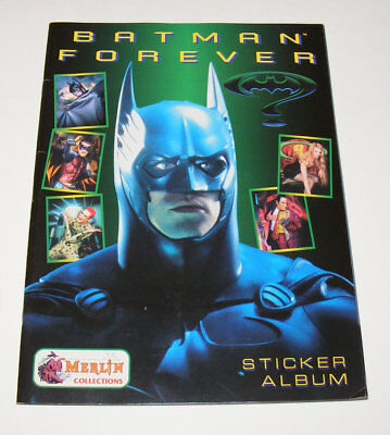 Batman Forever - Stickeralbum | 148 Sticker + Maske | 1995 Merlin Collection