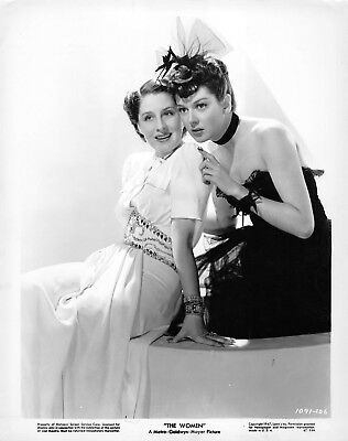 """NORMA SHEARER & ROSALIND RUSSELL superb vintage 1947 """"THE WOMEN"""" photo"""