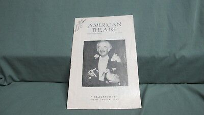 Vintage  HARRY BLACKSTONE Sr. 1952  Program American Theatre