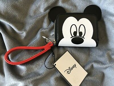 Primark Disney Mickey Mouse Zip Up Coin Purse BRAND NEW, WITH TAGS