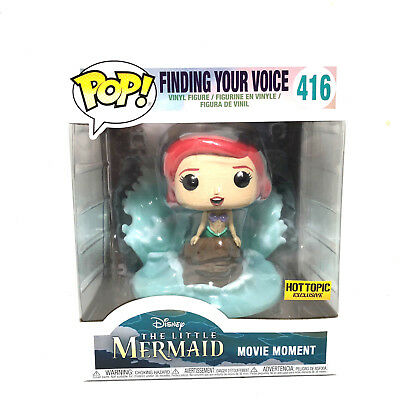 Funko Pop! Disney The Little Mermaid Finding Your Voice #416 Hot Topic Exclusive