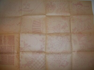 Vintage MAMMY Hand Embroidery Pattern sheet