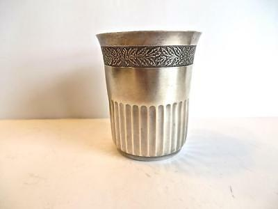 Fine French Vintage 800 Silver Fancy Hallmarked Tumbler No Reserve