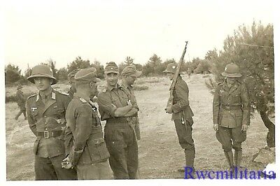 **BEST! Wehrmacht Afrika Korps DAK Unit at Outdoor Ceremony in Desert (#1)!!!**