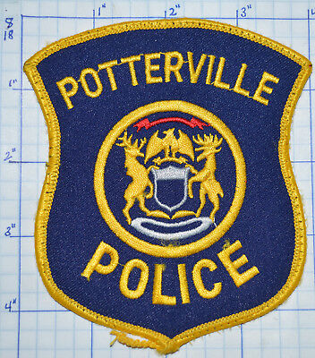 Michigan, Potterville Police Dept Patch