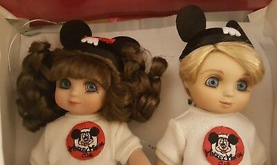 """Marie Osmond Disney Parks exclusive Adora Belle and Beau Mouseketeer 9"""" set"""