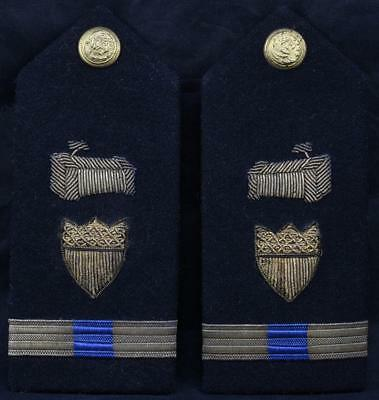 Vanguard WWII US Navy PHOTOGRAPHER Shoulder Boards Pair