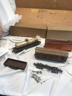 Vintage On3 Scale Train Graveyard Lot Model Train Must See No Reserve
