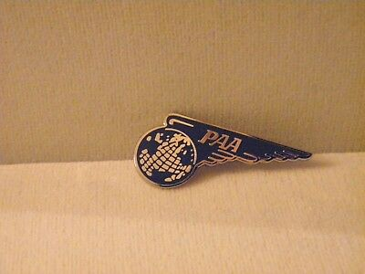 Pan American Pan Am Airline Atlantic Region Wing Lapel Pin Pilot Fa Vintage Gift