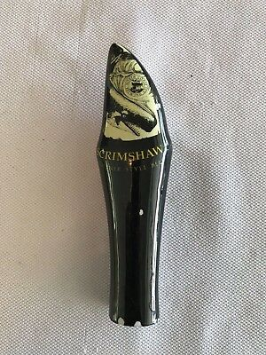 Beer-Barware-Brewania-Tap Handle-North Coast Brewing Co Scrimshaw Pilsner Beer