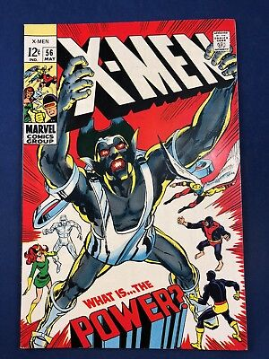 X-Men #56 (1969 Marvel Comics) Living Pharaoh appearance Silver Age NO RESERVE