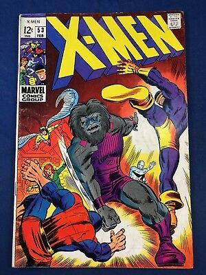 X-Men #53 (1969 Marvel Comics)  Blastarr appearances  Silver Age