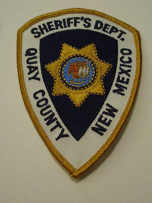 Quay County New Mexico Sheriff Patch