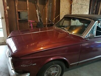 1964 Plymouth Other Black 1964 plymouth valiant convertible