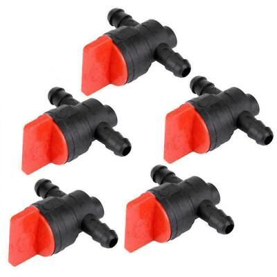 "5 PCS 1/4"" InLine Straight Fuel Gas Cut-Off Shut-Off Valve For BRIGGS & STRATTON"