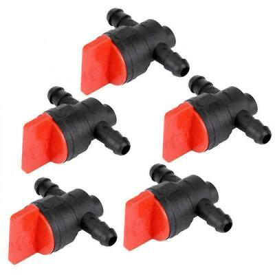 "5PCS 1/4"" InLine Straight Fuel Gas Cut-Off Shut-Off Valve For BRIGGS & STRATTON"